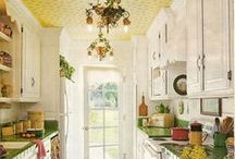 The Heart of a Home / Kitchen decor ideas.