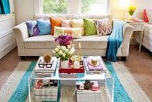 Decorating Ideas / Are you getting tired of the way your apartment looks?? Take a few ideas from here to give it a new look and add some life back into your space.