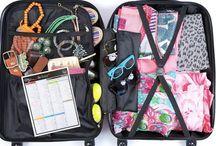 Hacer maletas / Consejos y recursos para que aprovechas el espacio en tu maleta al máximo.