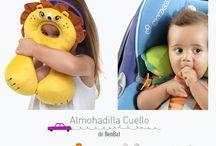 Accesorios para viajes con niños / Una colección de accesorios que , supuestamente, harán que viajar con niños sea más fácil y cómodo.