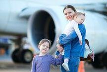 Viaje en avión con niños / Cómo entretener a los peques en un viaje largo en avión