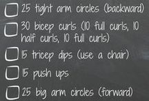 Workouts for those who are time poor. / Anyone who knows me knows that I am usually running from one thing to the next not ever making time for myself. Now that I am working from home I have found I have even less time to get to that dreaded gym. After spending an hour or two on the computer I need to do something to stretch out those sore muscles. So after searching for like all of five minutes, (because that is all the time I have), I found the following.