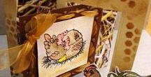 Crealies - stencils / Maak mooie achtergronden op kaarten en scrappagina's