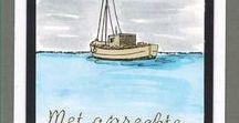 Stempelen - Harbour / Stempels van Hobby Art in Nederland verkrijgbaar bij Multihobby. Creëer je eigen landschap met deze stempelset