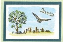 Stempelen - In the Country / Stempels van Hobby Art in Nederland verkrijgbaar bij Multihobby. Creëer je eigen landschap met deze stempelset