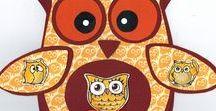 Stempelen - Owls / Stempels van Hobby Art in Nederland verkrijgbaar bij Multihobby. Creëer je eigen kaart met deze stempelset