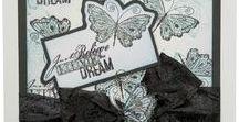 Stempelen - Butterflies / Stempels van Hobby Art in Nederland verkrijgbaar bij Multihobby. Creëer je eigen kaart met deze stempelset