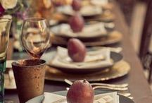 The Sustainable Table / Tips and inspiration for setting a sustainable table from experts in local wine, sustainably-grown pears, and fresh-cut flowers