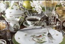Fine and Formal - the Classics / Elegant dining, heirloom silver, cherished patterns, and time-honored tradition.
