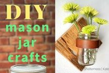 DIY and Crafts / Easy, simple and fun DIY projects and crafts that you can do in less than a day.