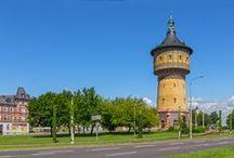 water tower - Wasserturm / Wassertürme von gestern und heute
