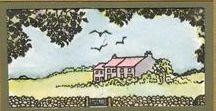 Stempelen - British Countryside / Stempels van Hobby Art in Nederland verkrijgbaar bij Multihobby. Creëer je eigen landschap met deze stempelset