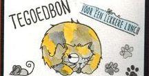 Stempelen - Catz / Stempels van Hobby Art in Nederland verkrijgbaar bij Multihobby