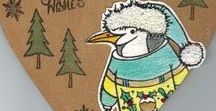 Stempelen - Pip the Penguin / Stempels van Hobby Art in Nederland verkrijgbaar bij Multihobby