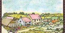 Stempelen - On the Farm / Stempels van Hobby Art in Nederland verkrijgbaar bij Multihobby