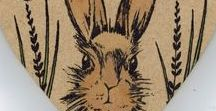 Stempelen - March Hares / Stempels van Hobby Art in Nederland verkrijgbaar bij Multihobby