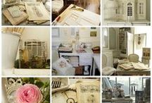 Ambiance d'Atelier —  Atmosphere of my Workroom