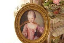 Tableaux en miniature - Miniature paintings (printed)