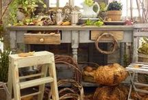 Jardin, véranda en miniature - Miniature garden, greenhouse