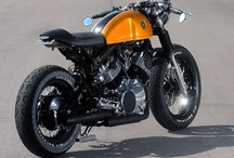 Cafe Racer Bikes / Collection of Custom Styled Cafe Racer Bikes! Be awesome. Click the Follow for more :)