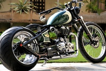 Bobber Bikes / Japanese, British or American bikes given individual touch by their owners in bobber style. Click the Follow for more :)