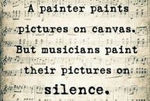 """Art & Music [Violin, Paintings, Composers, Artists, Subcreation, Duende] / ♫♪♫♪ {There is geometry in the humming of the strings; there is music in the spacing of the spheres.} I believe that """"art"""" is a way of living: I am a violinist, and my bow is my paintbrush. Find me at: https://www.reverbnation.com/gloriasun ♫♪♫♪"""