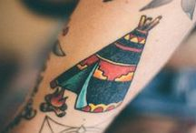 Teepee/Tipi tattoo's