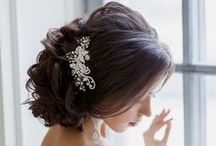 Wedding Day Hairstyles / Ideas for hairstyles on your special Wedding Day
