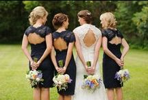 Bridesmaids Dresses / Great ideas for bridesmaids dresses and colour schemes for your Wedding Day