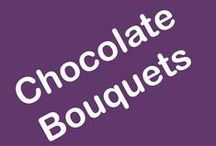 Chocolate Bouquets / A world of delicious chocolate bouquets await you! From your favourite Ferrero Rocher and Lindts, to Bacis and unique Belgian chocolate flowers, home-baked cookies, even a drop of beer and bubbly, there's a gift idea for every taste and budget... Planning a romantic night in? Spoil them with a champagne and chocolate bouquet. Celebrating a new baby birth? Choose from a range of baby gifts with fun plush toys and treats for parents.