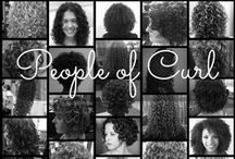 Curl friends / Curly stylists and their curly clients.