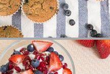 Breakfast / Bunch of healthy breakfasts