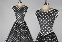 Vintage Década de 50 / Vestidos Vintage 1950