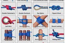 ロープ、紐、パラコード他 編んだりする物