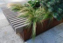 Mobiliers - Street furniture / Mobiliers urbains, de conforts, de protections,