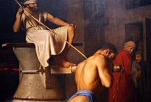 """Samson"" Story Board / Magnum Opus \ * Love, lust, weakness, gentleness * Betrayal, trust * Heroism, pride, savageness, humility * Strength, endurance, time's passage * Revenge, death * Freedom, imprisonment * Blindness"