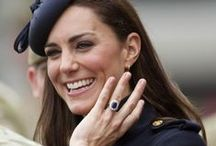 The Duchess of Cambridge loves Sapphires / SAPPHIRES - THE ROYAL TREASURE One of the Royal family's most treasured stone and also the Duchess of Cambridge's favourite. Sapphires naturally occur in a variety of colours ranging from royal blue to sparkling pink, here we have hand picked a selection of our finest sapphire jewellery.