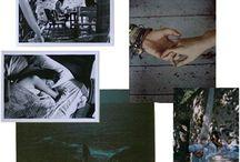 мудборд лонгрид 1 модуль / Воспоминания, фотографии, дневник, кусочки, фрагменты