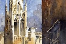 watercolor   / My Favorite Watercolor Artists & Paintings    / by Yan Xu