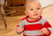 Baby Knits & Crochets / Knit and crochet inspiration and patterns for baby boys & girls! / by eKnittingNeedles.com