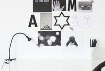 ▲E S C R I T O R I O S ▲ / ¿Trabajás desde casa? ¡Yo también! En este board guardo ideas e imágenes para aplicar a mi espacio. #rincones #inspiración #emprender
