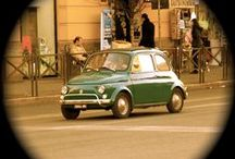 Fiat 500s in Rome
