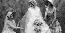 bygone brides / Antique & vintage wedding photographs and bridal portraits.