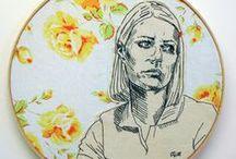 ▲A R T E▲ / Piezas, fotos, bordados, street art. Love arte