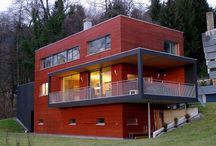 Passive houses / Pictures and diagrams of passive houses/passiv haus