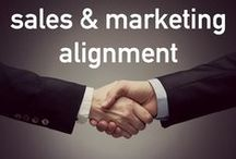 Sales & Marketing Alignment / Sales and Marketing tips to make your teams stronger and more collaborative.