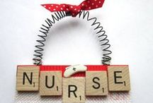 Getting Crafty / Although nurses are often short on free time - here are some fun (and fast!) DIY projects.