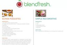 Blendfresh Recipes / Great recipes using the Blendfresh Products.