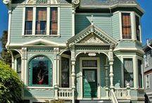 Casa victoriana diseño de dibujo