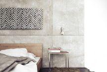 Bedroom / Inspiraatiota yöpuun ympärille
